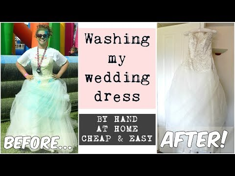 Download Youtube To Mp3 How Wash A Wedding Dress At Home