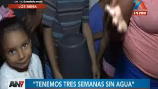 Residentes de Los Mina llevan tres meses sin agua