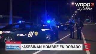 Sin identificar hombre asesinado frente a parque de Dorado