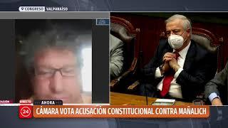 Cámara de Diputados rechaza acusación constitucional contra Jaime Mañalich