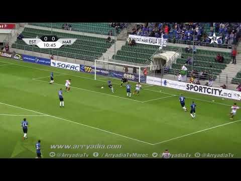 المنتخب المغربي 1-0 منتخب إستونيا هدف يونس بلهندة