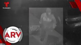 Hombre ataca con furia y con una maleta a una mujer de 63 años   Al Rojo Vivo   Telemundo