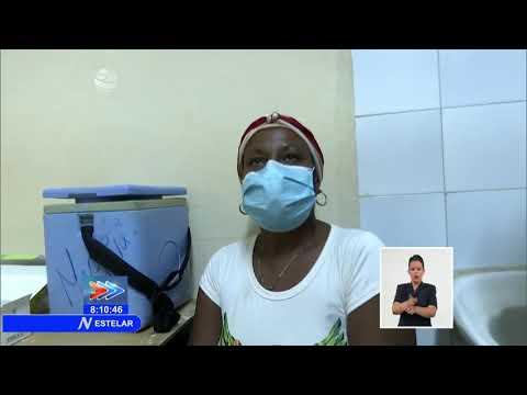 Ministro de Salud de Cuba recorre centros de pacientes positivos a COVID-19 en Granma