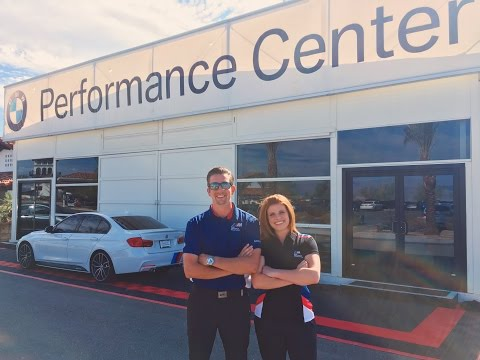 Chill Chaser visits BMW Performance Driving Center