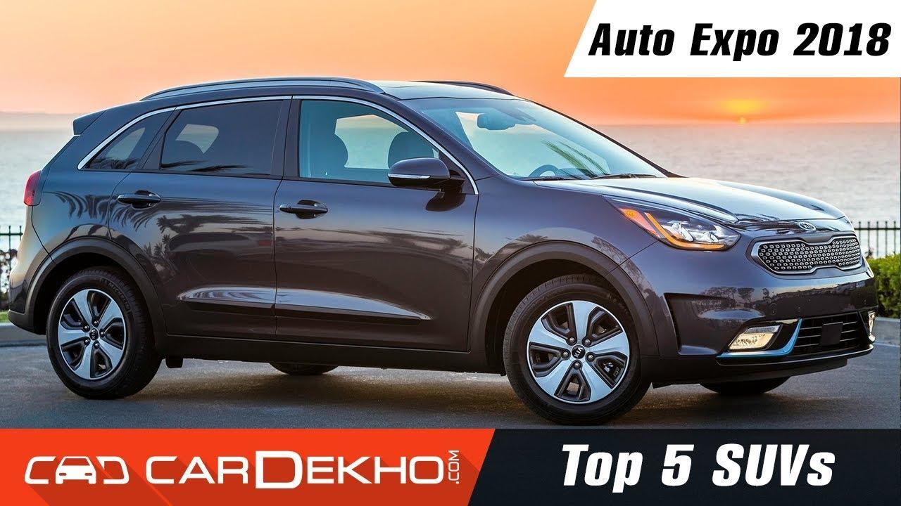 Top 5 SUVs @ Auto Expo 2018