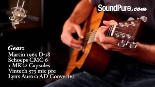 Martin 1965 D-18 Vintage Dreadnought Guitar - Acoustic Guitar Demo