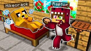 MIKECRACK SE ENFERMA ???? RAPTORGAMER Minecraft Roleplay