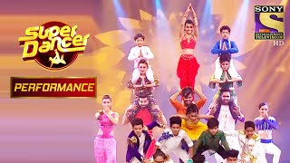 "Contestants ने दिया ""गा गा गणपति"" पे एक शानदार Performance | Super Dancer Chapter 2 - SETINDIA"