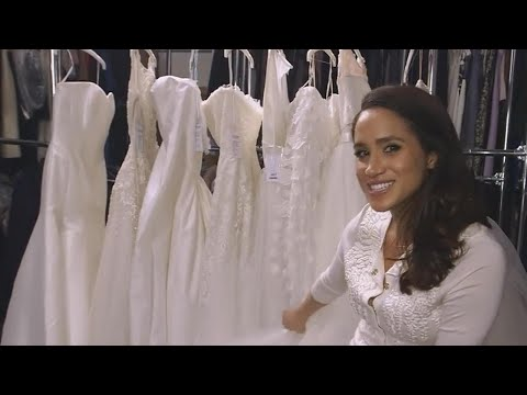 connectYoutube - Meghan Markle Already Had Her First Wedding Dress Fitting -- Details!