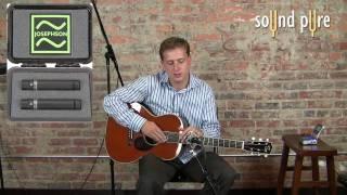 Josephson C42 Microphones - Acoustic Guitar