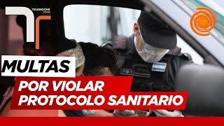 Multas de hasta $300 mil pesos en Córdoba para quienes violen las medidas sanitarias