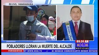 Familiares y amigos dan último adiós al alcalde de Yamaranguila