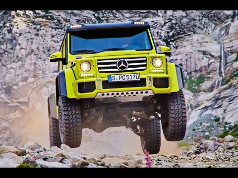 New Mercedes-Benz G500 4x4 revealed