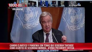 Pdte. Ortega enfatiza en la necesidad de unir esfuerzos contra el cambio climático – Nicaragua