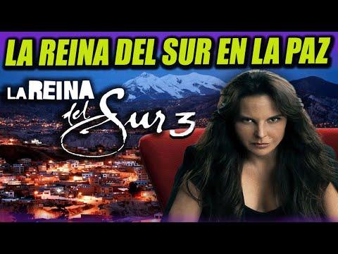La Reyna del Sur grabó escenas de su tercera temporada en La Paz y El Alto