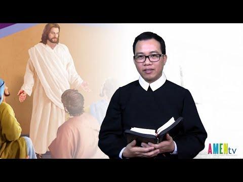 LỜI HẰNG SỐNG Thứ Sáu 24.05.2019: YÊU THƯƠNG NHAU NHƯ THẦY - Lm. Giuse Nguyễn Văn Toản, DCCT