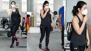 Raashi Khanna Spotted At Gym TODAY | Actress Raashi Khanna Latest Video | TFPC - TFPC