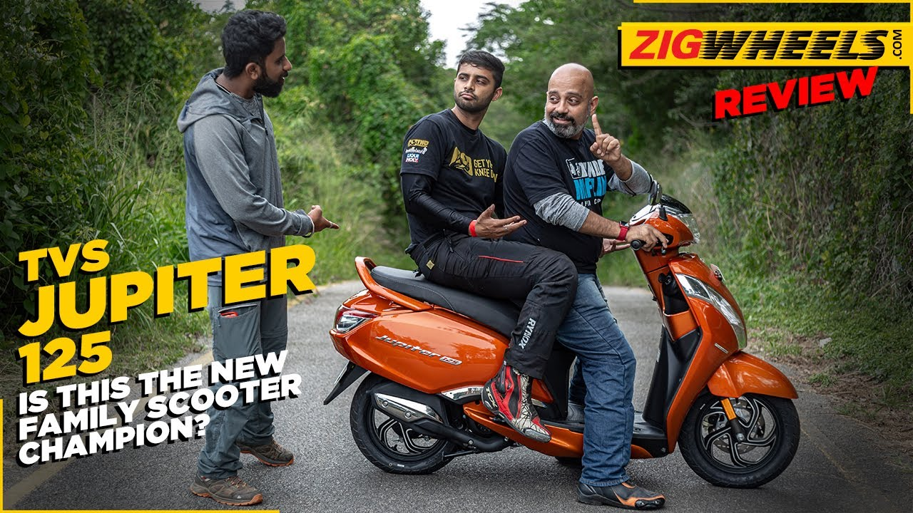 TVS Jupiter 125 First Ride Review | Specifications, Features, Comfort, Performance & More