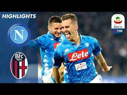 اهداف مباراة نابولي وبولونيا 3-2 | البطولة الايطالية