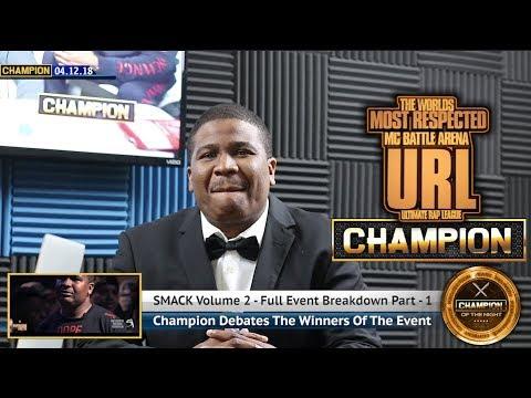 CHAMPION | DNA - BREAKS DOWN SMACK VOLUME 2 - SMACK/URL