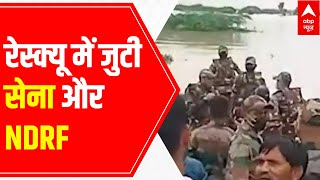 Flood in MP: A look at Indian Army, NDRF teams' heroic rescue operations - ABPNEWSTV