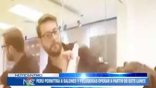 Perú permitirá a salones y peluquerías operar a partir de este lunes