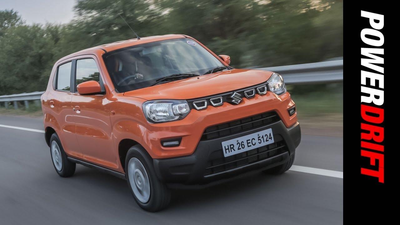 ಮಾರುತಿ ಸುಜುಕಿ ಎಸ್-ಪ್ರೆಸ್ಸೊ : the bonsai car : powerdrift