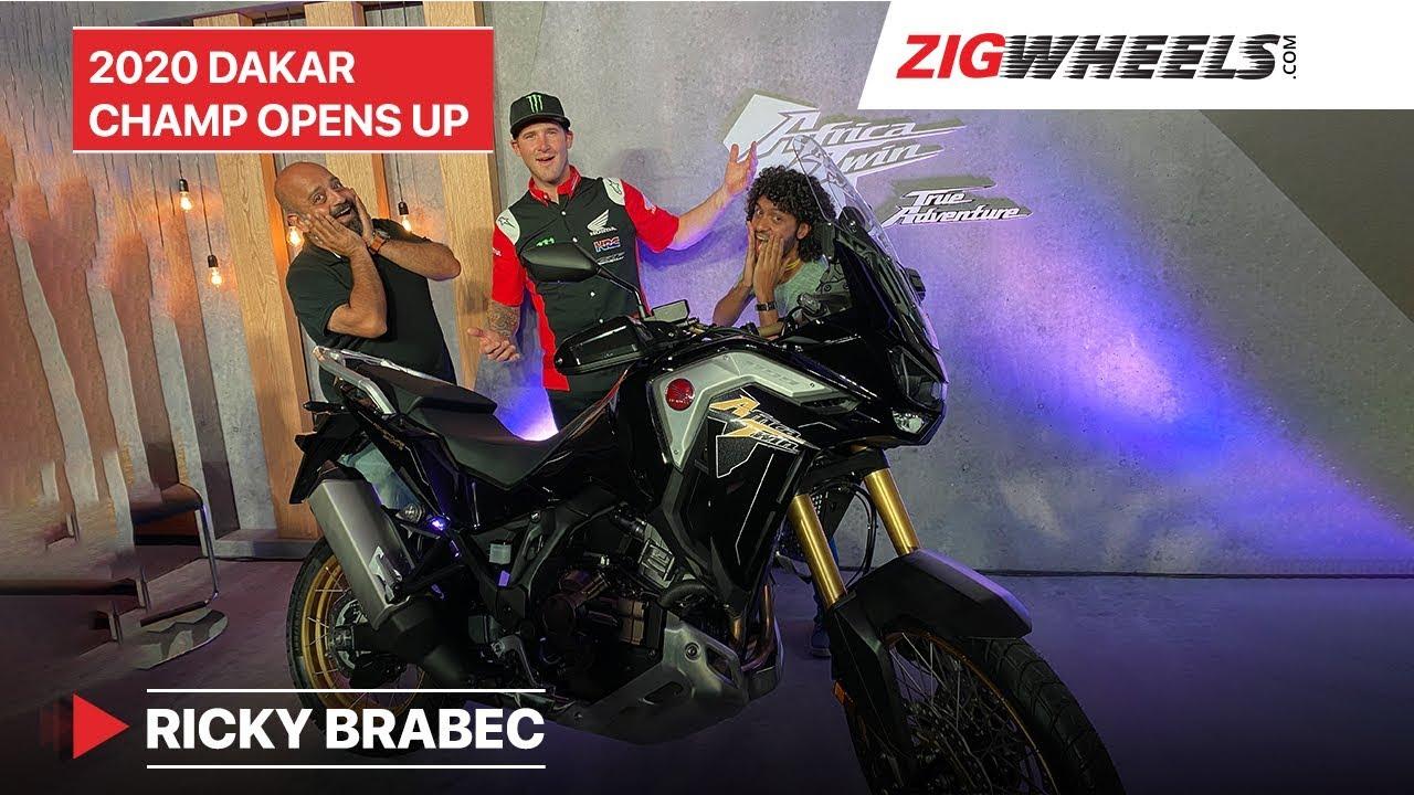 Ricky Brabec - Conversing With The 2020 Dakar Champion @ Honda Africa Twin Launch