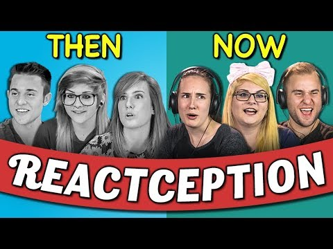 connectYoutube - COLLEGE KIDS REACT TO THEMSELVES ON TEENS REACT #5
