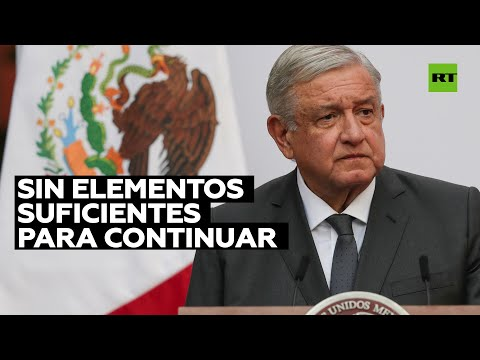 López Obrador tilda de irresponsable la investigación de EE.UU. sobre Salvador Cienfuegos