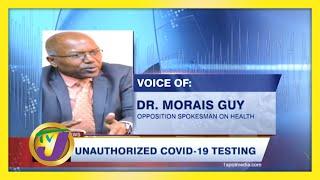 Shocking Unauthorized Covid Testing in Jamaica - January 10 2021