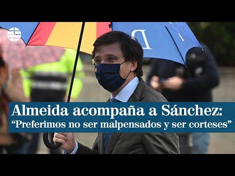 Almeida acompaña a Sánchez en Madrid: No hemos sido invitados, pero preferimos ser corteses