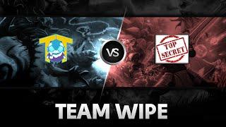 Team wipe by Team Tinker vs Team Secret @XMG Captains Draft Season 2