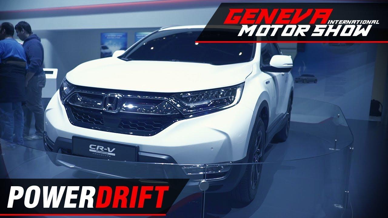 Honda CR V - Now a hybrid : Geneva Motor Show 2018 : PowerDrift