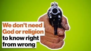 We don't need God or religion to know right from wrong | Michael Shermer