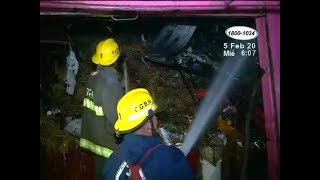 Incendio consumió dos tramos en el Mercado Oriental