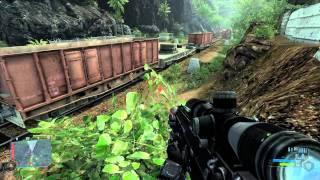 Crysis Walkthrough: Level 6 - Awakening [Part 1] HD 5870 Max (1080p)