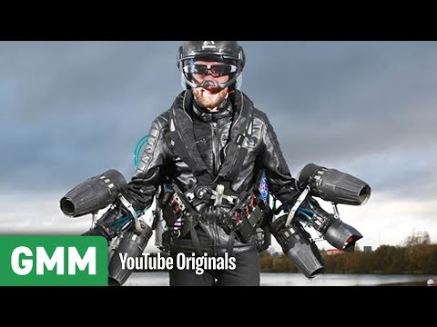 Real Life Iron Man?   High Road Low Road