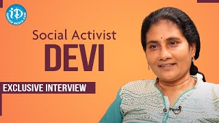 Social Activist Devi Exclusive Interview | Dil Se with Anjali | iDream Telugu Movies - IDREAMMOVIES