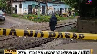 Amanda dejó 12 fallecidos en El Salvador