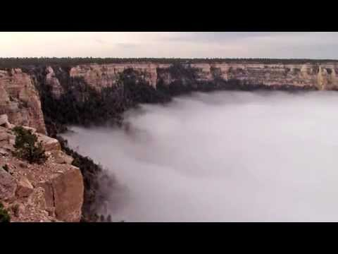 connectYoutube - check out what cloud inversion in the grand canyon looks likes