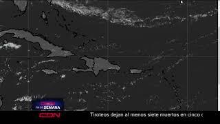 Condiciones generales de buen tiempo sobre el territorio nacional