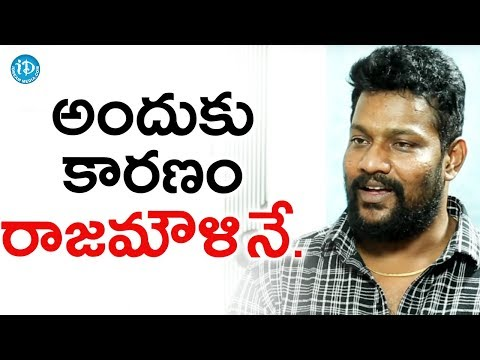 All The Credit Goes To SS Rajamouli - Prabhakar || Talking Movies With iDream