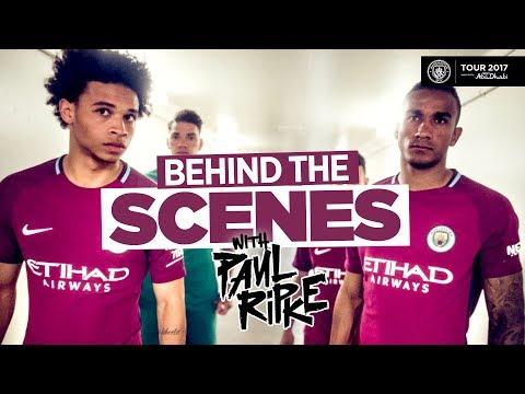 MAN CITY AWAY KIT REVEAL! | Behind The Scenes Paul Ripke LA Shoot