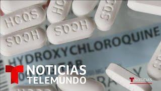 La hidroxicloroquina aumenta riesgo de muertes por COVID-19   Noticias Telemundo