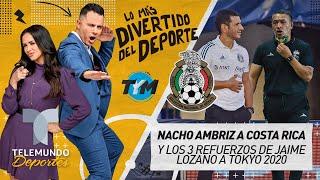 Nacho Ambriz es buscado en Costa Rica y el Jimmy tendría a sus 3 refuerzos | Telemundo Deportes