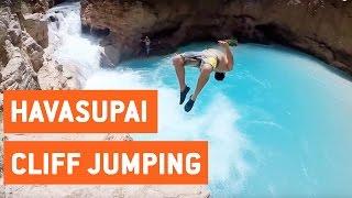 Cliff Jumping at Havasupai Falls   Bucket List