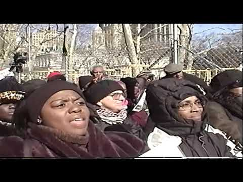 Amadou Diallo Rally by Woman against Police violence - video by Jose Rivera 1999