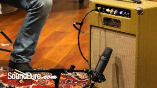Miktek CV3 LDC Tube Mic: Building a Mix pt. 4 - Electric Guitar