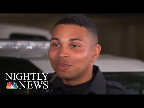 Former Marine Overcomes The Odds To Become A Police Officer